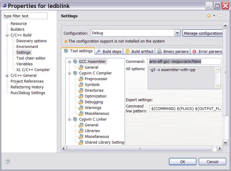 Projets Ide Gnu Eclipse Gcc Openocd Pour Developpement
